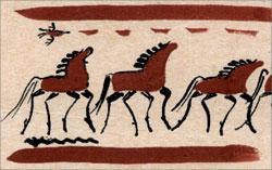 Из коллекции народных рисунков М. Чердынцева