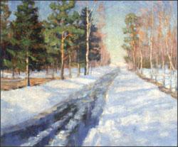 В.К. Бялыницкий-Бируля, «Мартовское солнце», 1936