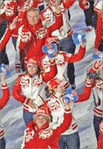 Олимпийцы чебурахнулись