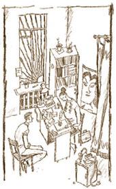 Игорь послушно присел на стул, думая о том, что не испытывает никакого удивления от происходящего.;  Дмитрий ИЗОТОВ