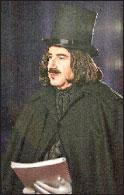 Леопольд Гершкович в гриме Гоголя в опере «Женитьба»
