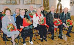 Встреча ветеранов в музее воды, 2010 г.