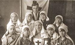 Сандружина Люберецких полей фильтрации, 1940 г.