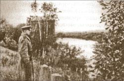 Часовой у водоприёмника РВС, 1941 г.
