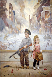 В. Нестеренко. «Эхо прошедшей войны» (выставка «Победа»)