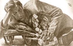 Геннадий Добров. «Отдых в пути»