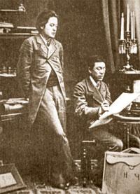 Антон и Николай Чеховы (фото 1881–1882)