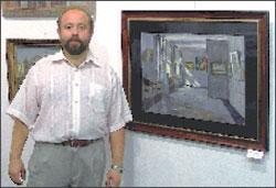 Более десяти лет Александр Беглов руководит Щёлковской муниципальной художественной галереей и уже три года возглавляет Союз художников Подмосковья.