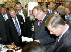 Всероссийски известные лица в индийском павильоне