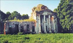 Церковь Введения во храм Пресвятой Богородицы в с. Тургеневе